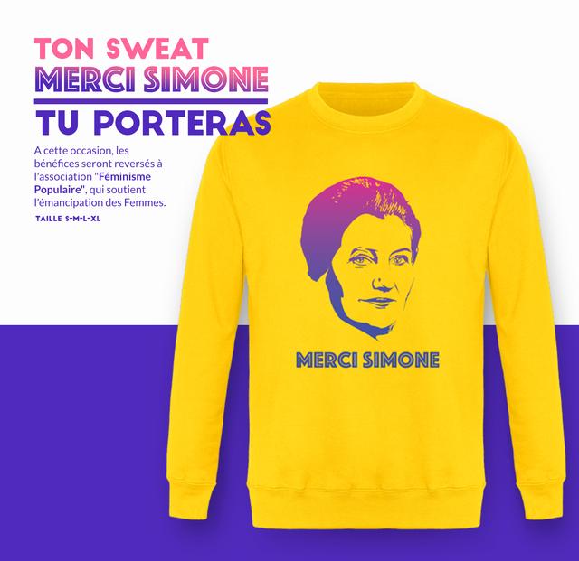 Merci Simone sweat shirt