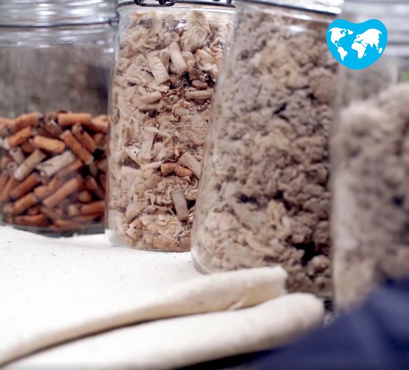 Dépollution et recyclage écologique des mégots : sans eaux ni produits toxiques