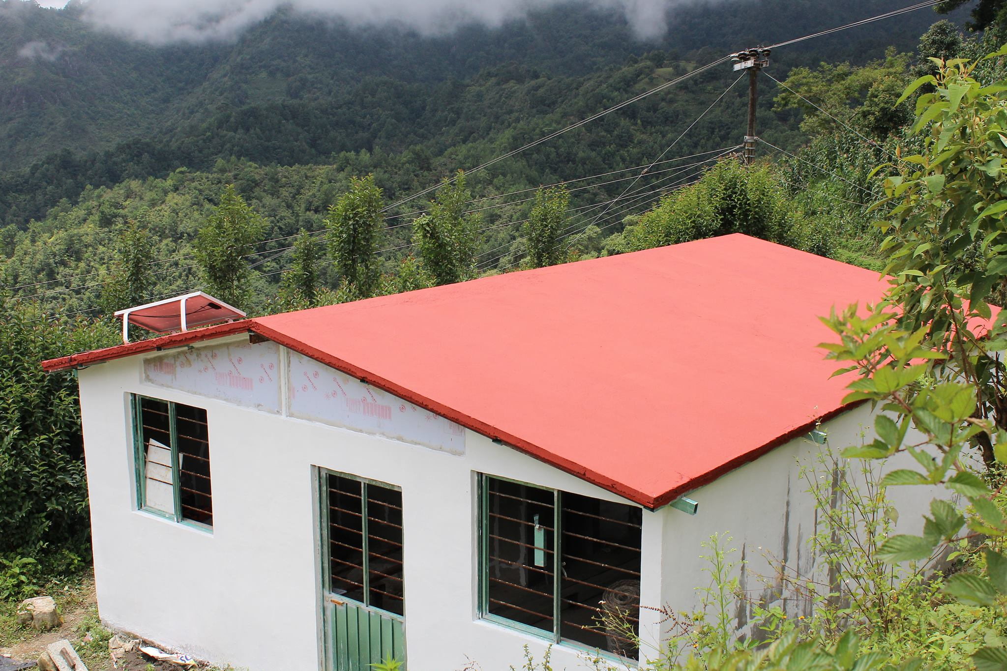 Une maison à base de plastiques recyclés construite par la société Ecodom