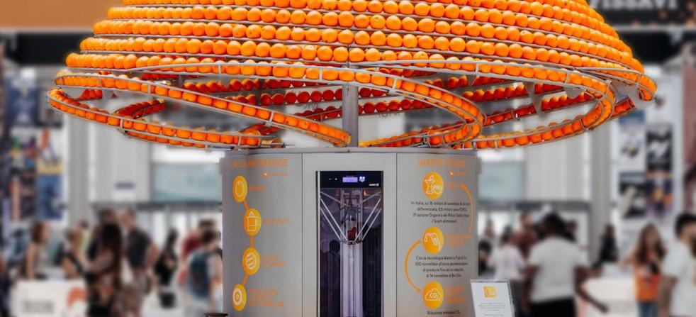 Des gobelets à base d'écorces d'orange. | Presse agrume